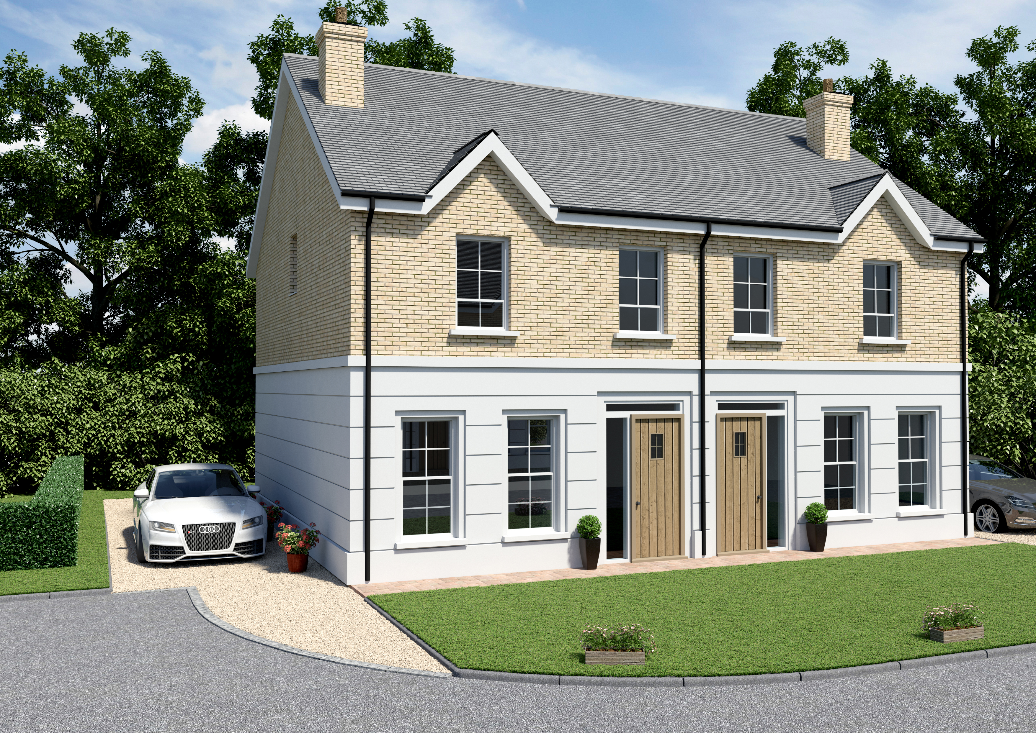 OAkvale Manor semi detached
