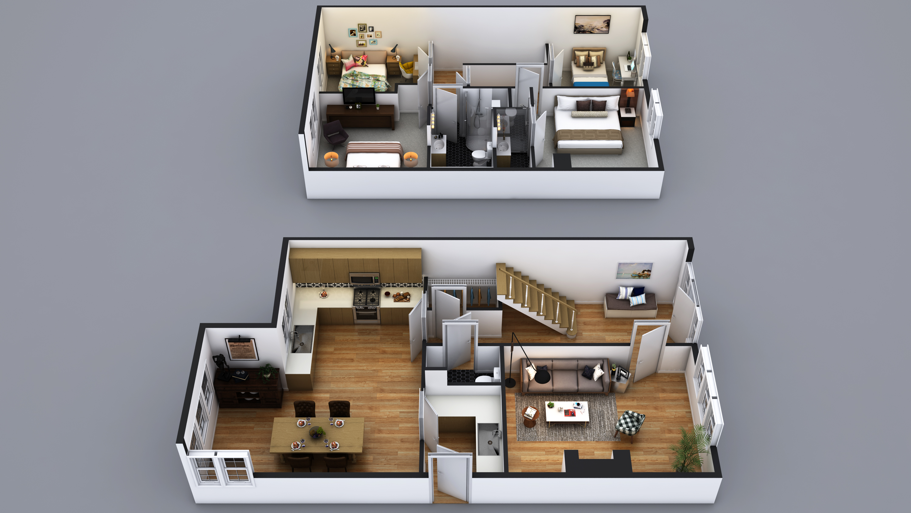 House Type A Interior