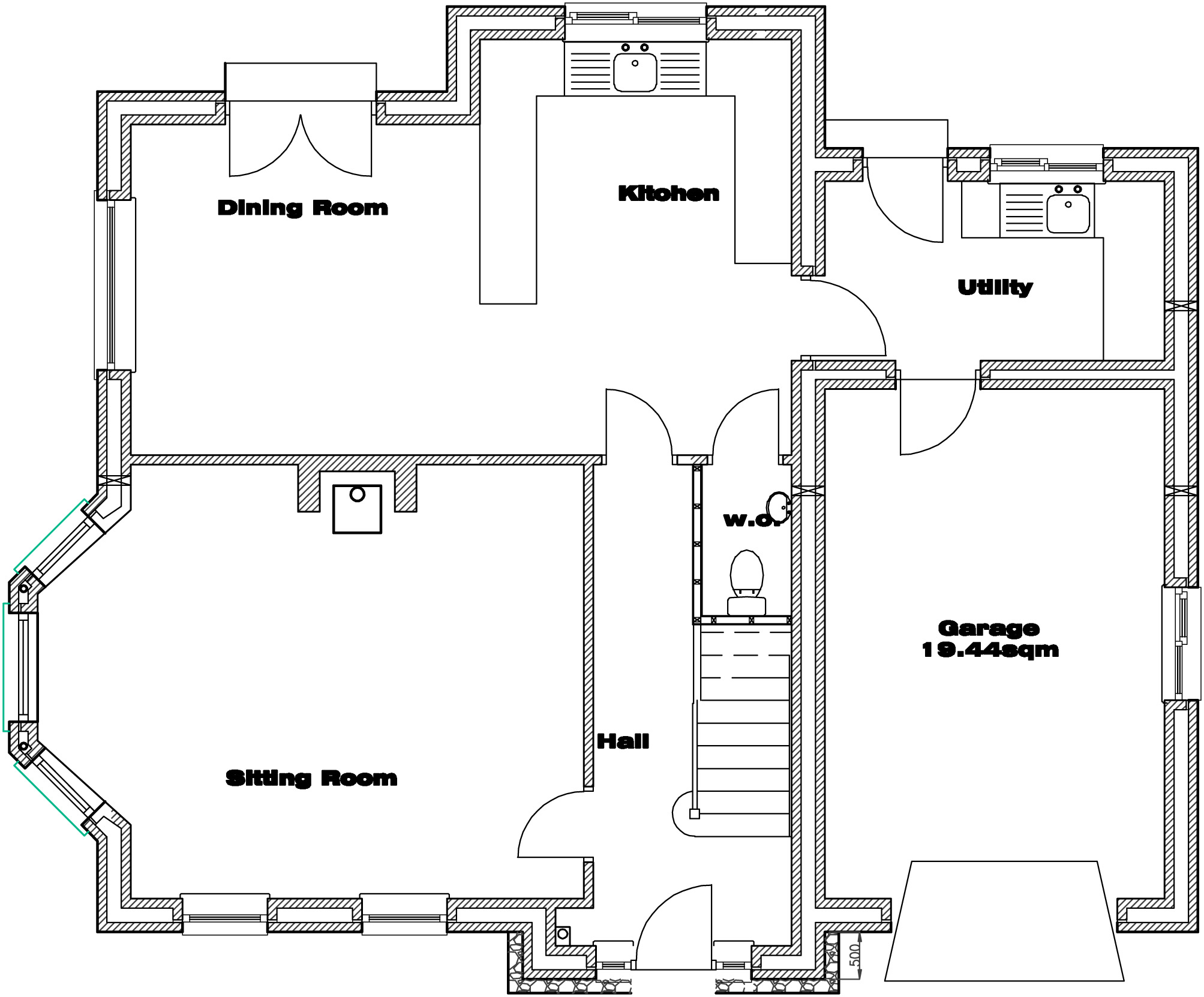 House Type C Ground Floor