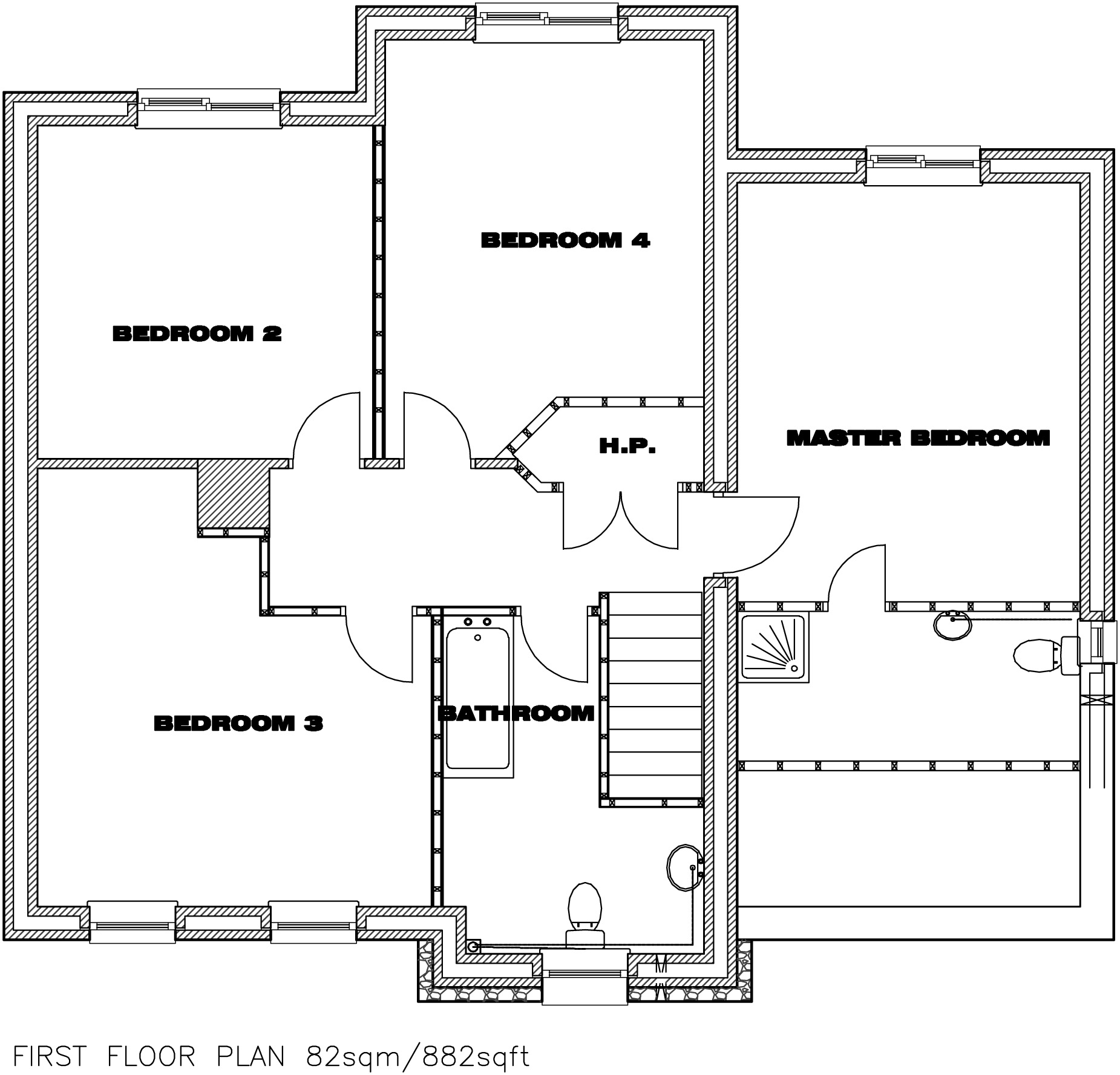 House Type C First Floor