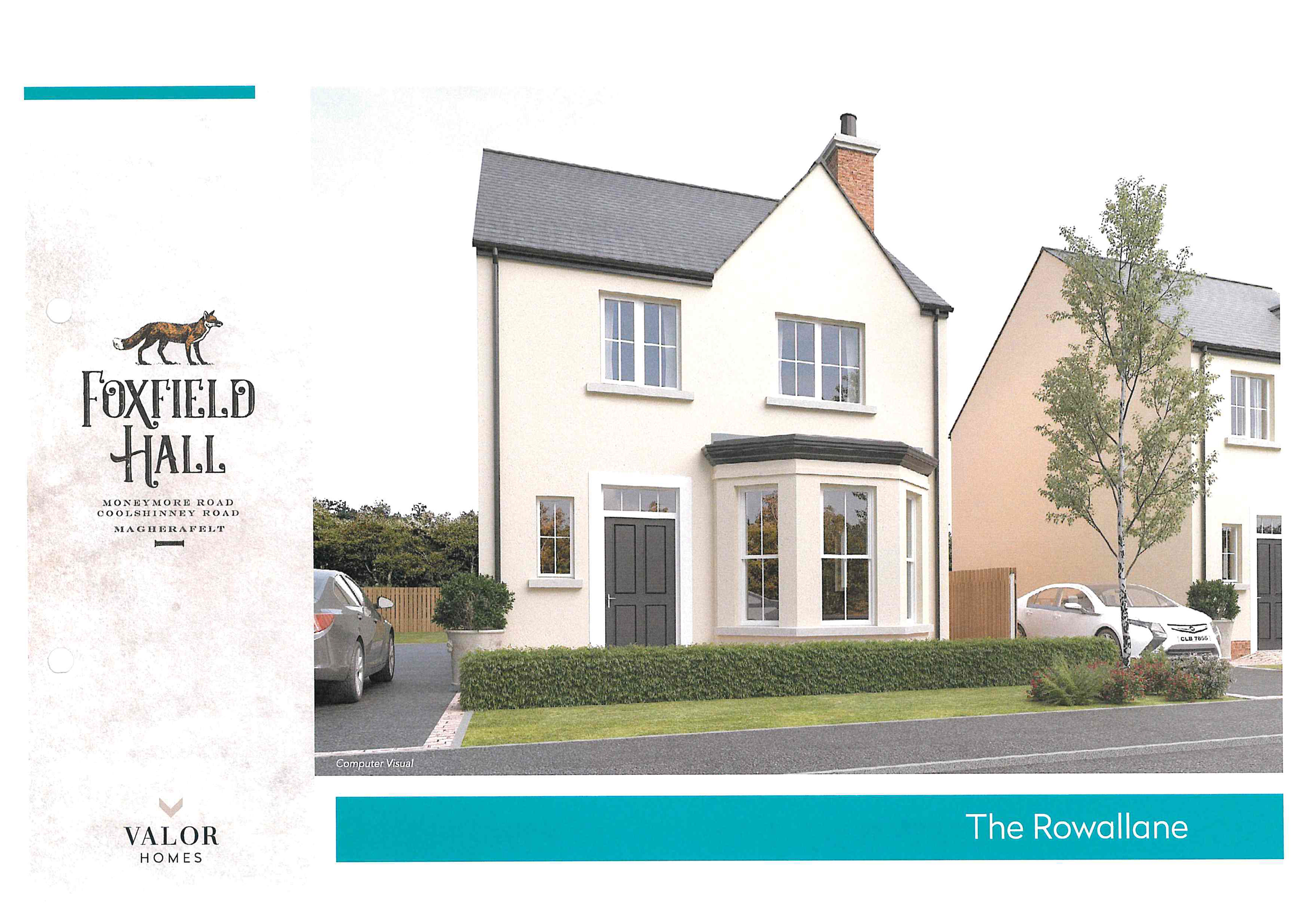 The Rowallane new front